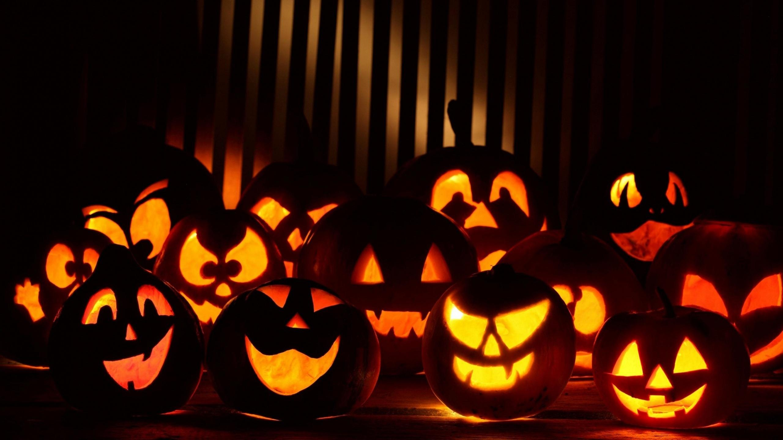 Halloween Pumpkins HD Wallpapers