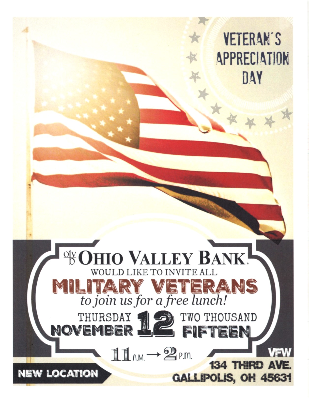 OVB Vets Day to post